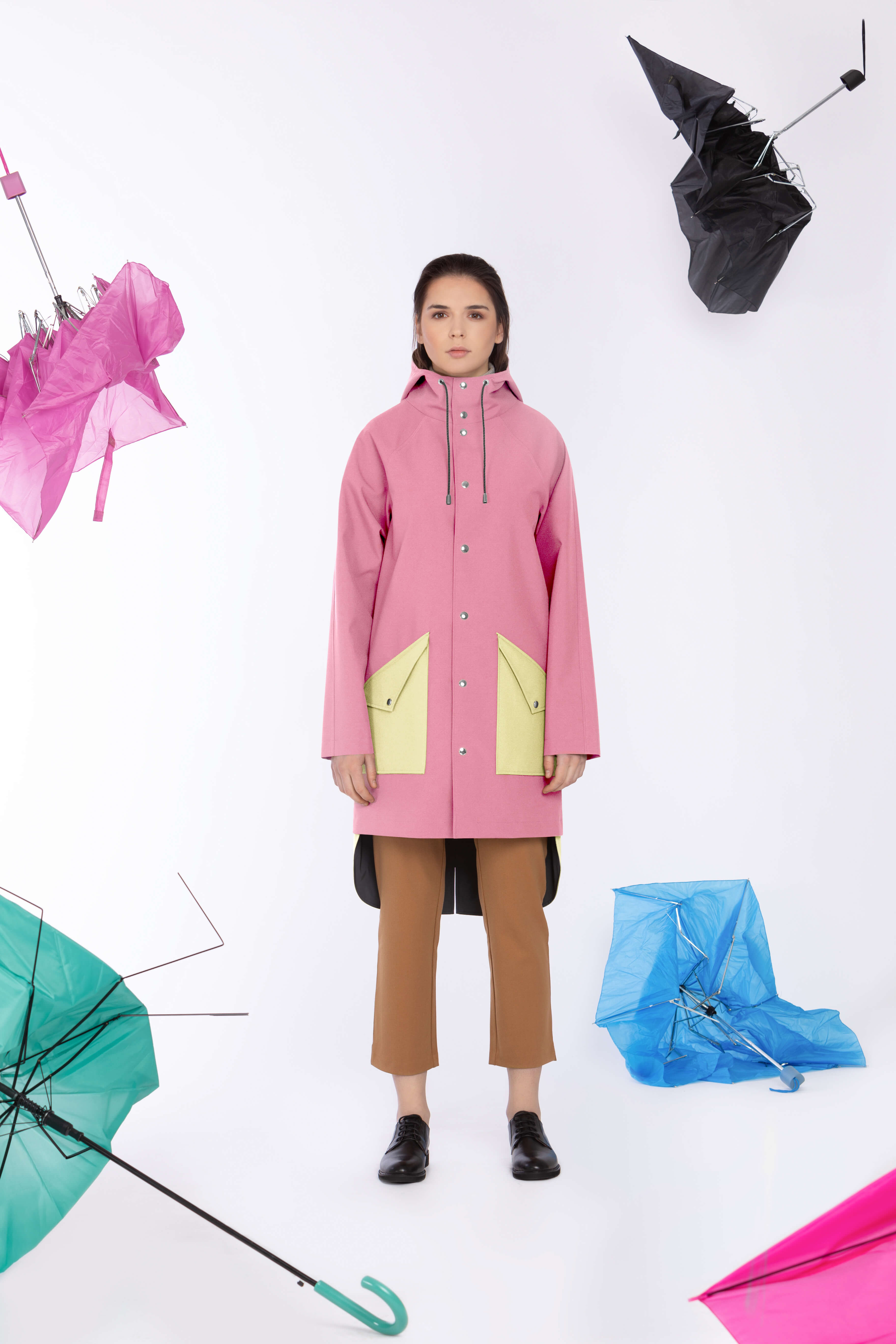 favorable price luxury aesthetic look out for WOMEN - Ducktail Raincoats
