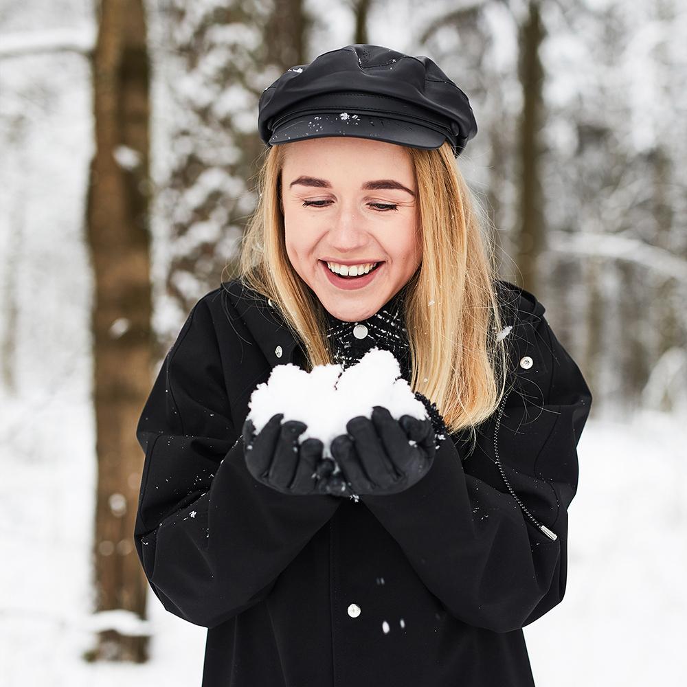 winter raincoat